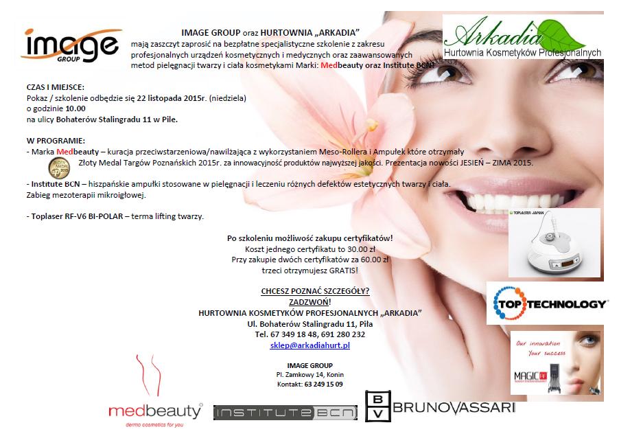 Med Beauty szkolenie Arkadia
